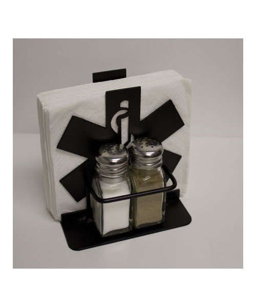 Star of Life Napkin/Salt & Pepper Shaker Holder