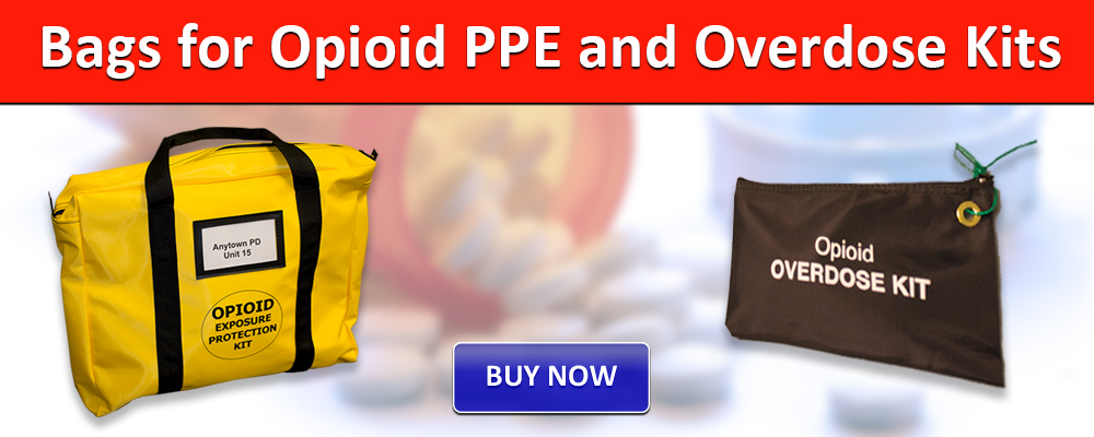 Bags for Opiod PPE and Overdose Kits
